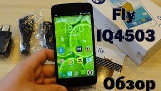 Fly Quad Era Life 6 IQ4503 Обзор смартфона