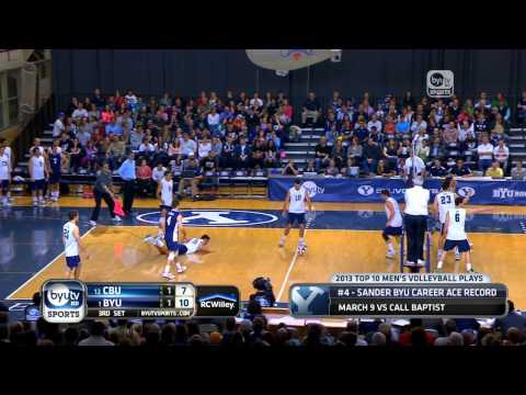 2013 BYU Men's Volleyball Top 10 Travel Video