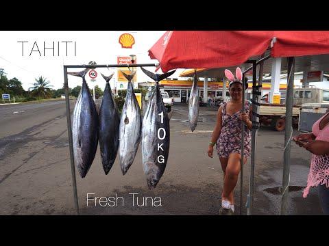 French Polynesia Food Source Tahiti In Pacific Ocean