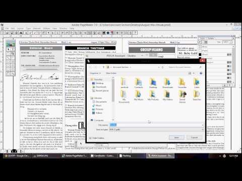How to convert pmd to pdf file? - YouTube