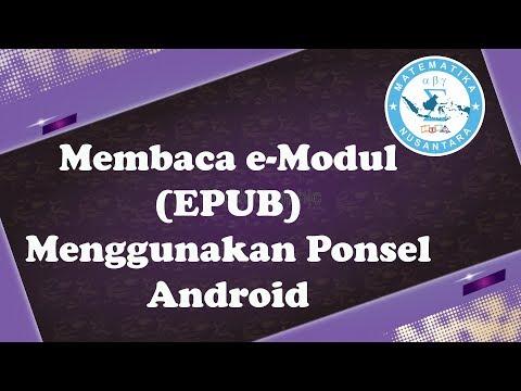Cara Mudah Membaca EModul (EPUB) Menggunakan Epub Reader Android