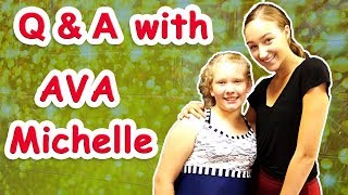 DANCING WITH AVA MICHELLE COTA  DANCE MOMS  CrazyAdventuresWithCoco