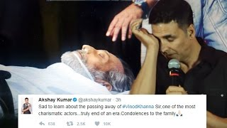 Akshay Kumar Pays Tribute To Late Vinod Khanna On Twitter