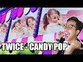 WOOOOWW TWICE CANDY POP MV REACTION