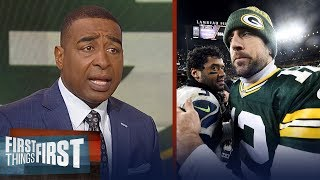 Cris and Nick look ahead to Packers vs. Seahawks game on TNF on FOX | NFL | FIRST THINGS FIRST