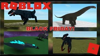 Roblox Dinosaur Simulator - Ready for Black Friday?