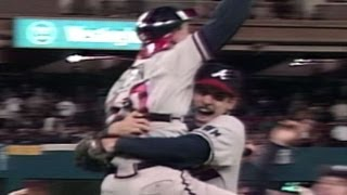 1991 NLCS Gm7: Braves advance on Smoltz