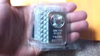 Sunshine Minting Silver Bar - Unboxing !!