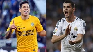 Álvaro Morata vs Juan Manuel Iturbe | Juventus vs Roma | 2014 HD