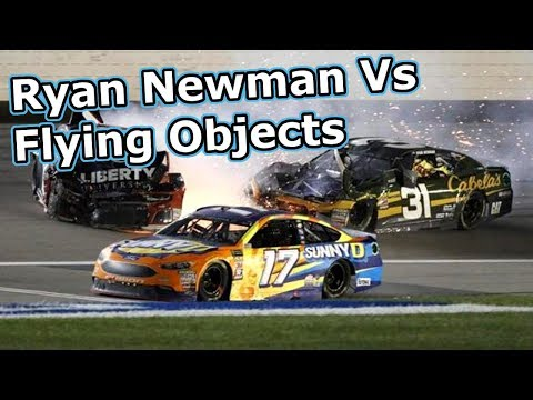 Ryan Newman Vs Flying Objects (Updated)