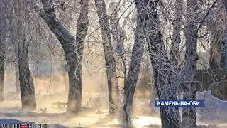 В Камне-на-Оби прорвало сразу несколько водопроводных труб