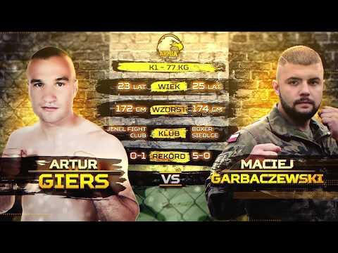 K1 77 kg - Artur Giers vs Maciej Garbaczewski Full Fight Video