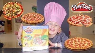 PIZZA PARTY • ATHENA CUISINE DES BONNES PÂTES ET PIZZAS - Studio Bubble Tea Pâte à modeler Play Doh
