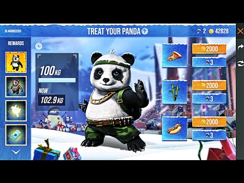 How To Get Free Panda Pet, Skin & Emote in Free Fire?    Treat Your Panda Winterlands Event Details