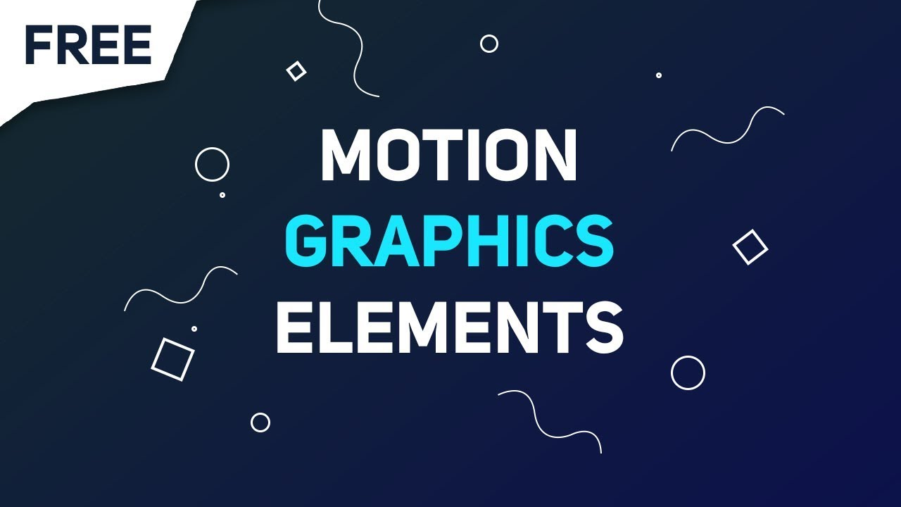 how to make motion graphics for free