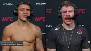 UFC Вегас 14: Дос Аньос vs Фелдер - Слова после боя смотреть онлайн в хорошем качестве - VIDEOOO