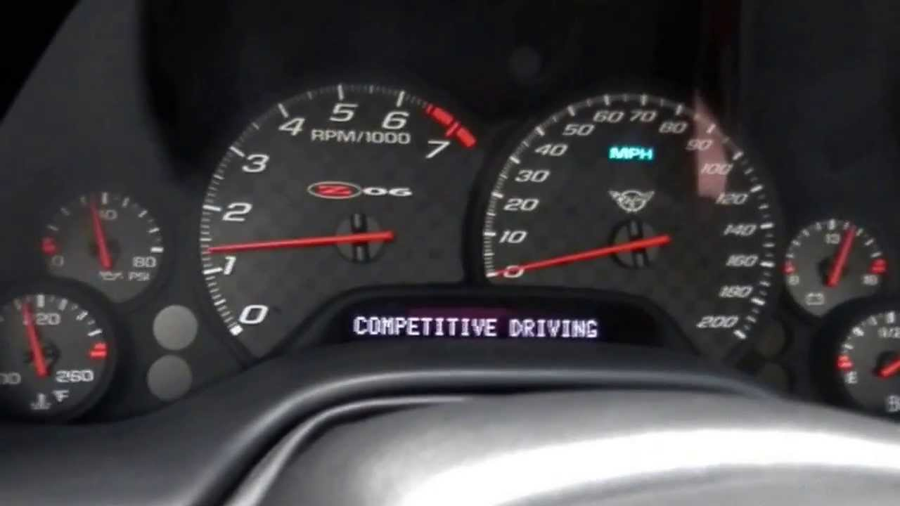 Corvette C5 Z06 0-60 mph - YouTube