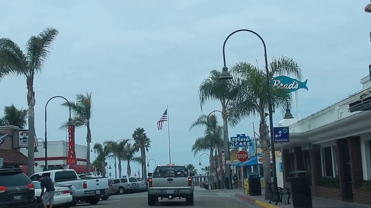 Downtown Pismo Beach California You