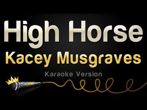 Kacey Musgraves - High Horse (Karaoke Version)