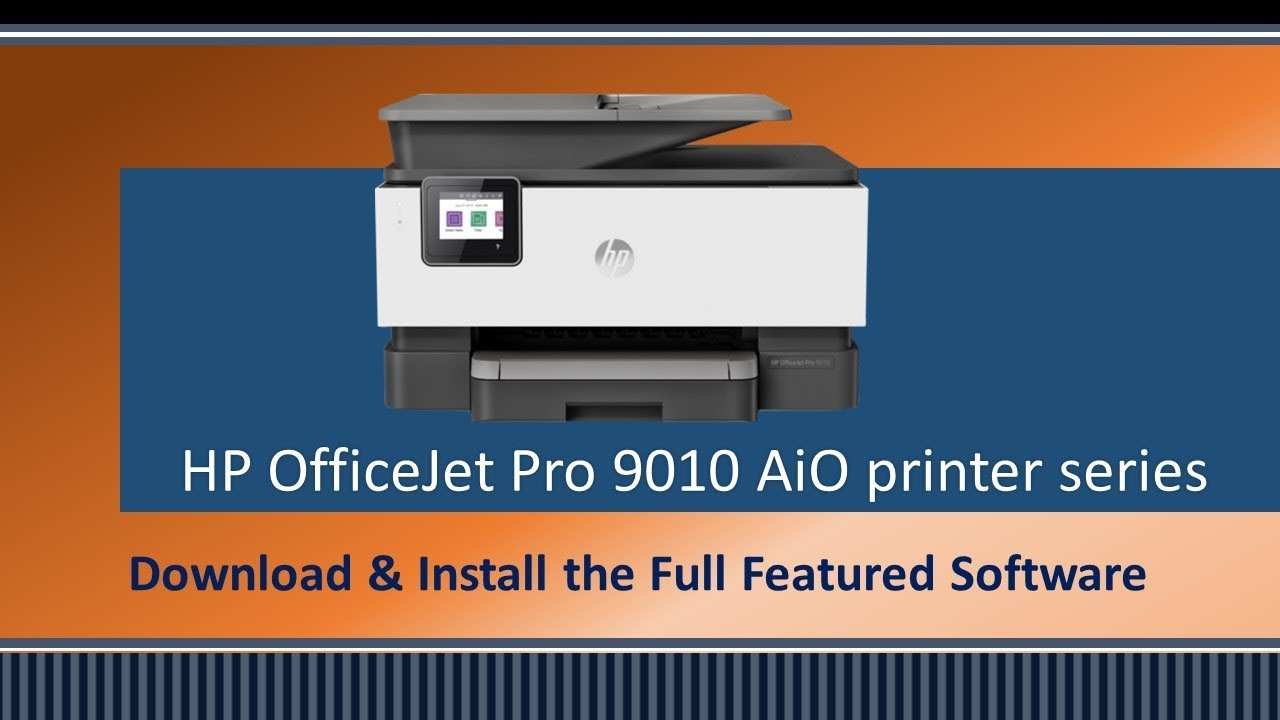 HP OfficeJet 9010 | 9015 | 9018 | 9019 : Download & Install HP Full  featured software