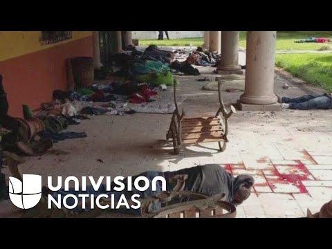 Policía Federal de México si asesinó a un grupo de civiles