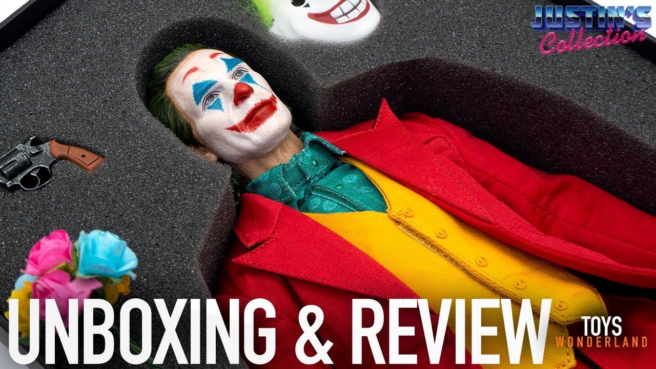 Joker Joaquin Phoenix 1/6 Scale Figure SW Toys Unboxing & Review