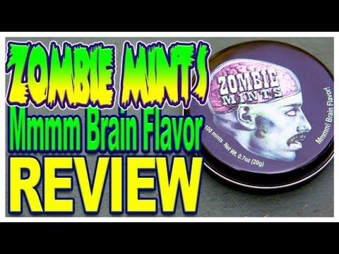 Zombie Mints Review - Mmmmm! Brain Flavor!!!