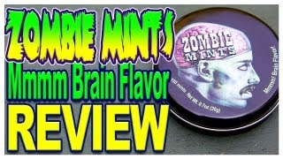 Zombie Mints Review - Mmmmm! Brain Flavor!!!