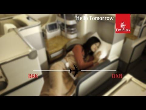 Flight Report: Emirates EK373 Bangkok to Dubai Business Class