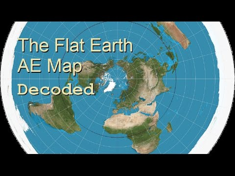 Flat Earth AE Map Decoded   YouTube