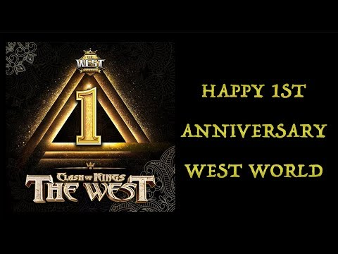 ANNIVERSARY UPDATE NOTE - CLASH OF KINGS: THE WEST
