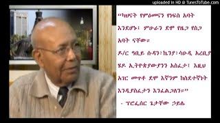 The Role of Ethiopian Public Intellectuals: Prof Getachew Haile - SBS Amharic