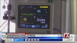 Overwhelming stress on health care workers due to COVID-19