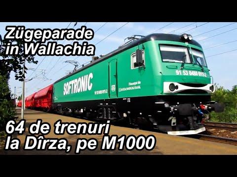 64 de trenuri