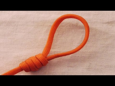 Fishing Knot: How To Tie A Surgeon's Loop Knot