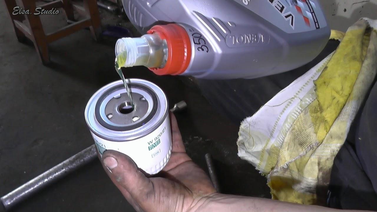 Замена масла двигателя Chevrolet Niva