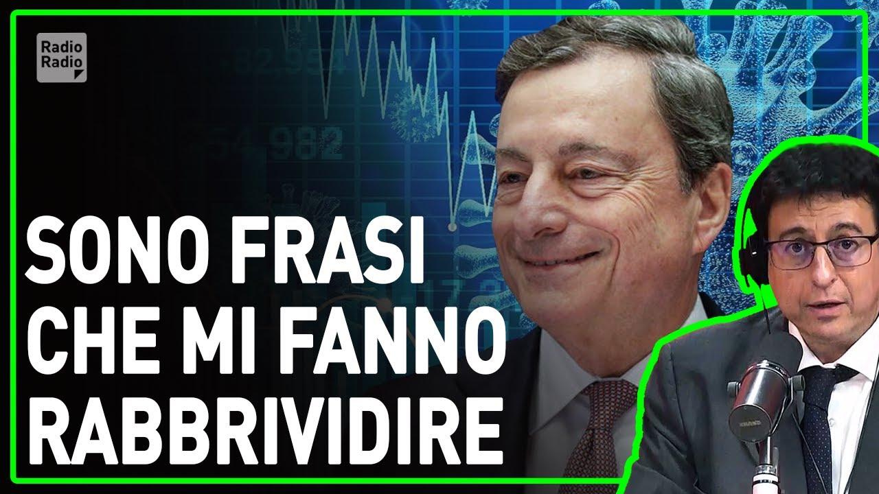 """Le parole agghiaccianti sul covid scritte dal G30 di Draghi: """"Ci sarà una nuova economia"""" - Malvezzi"""