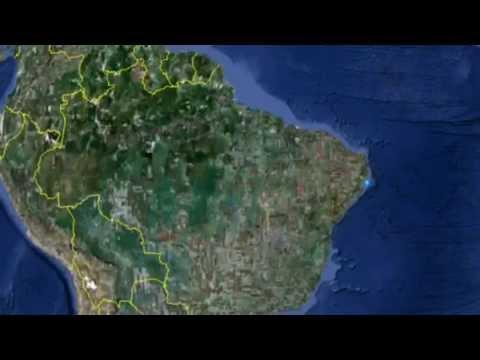 Brazil -- map animation, Recife
