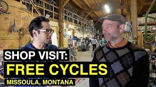 SHOP VISIT: Free Cycles Aritst in Residency Program