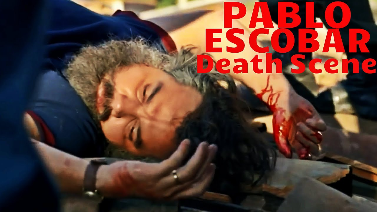 Pablo Escobar Death