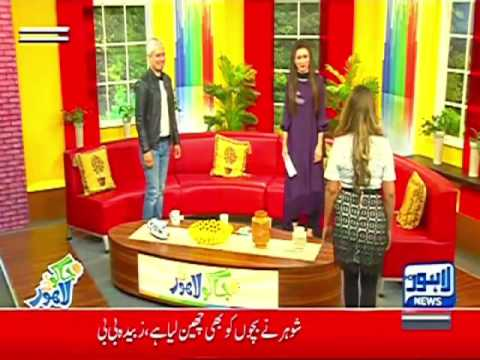 Rachel khan at Lahore news