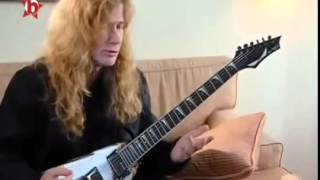 Dave Mustaine   Guitar Lesson, Holy Wars