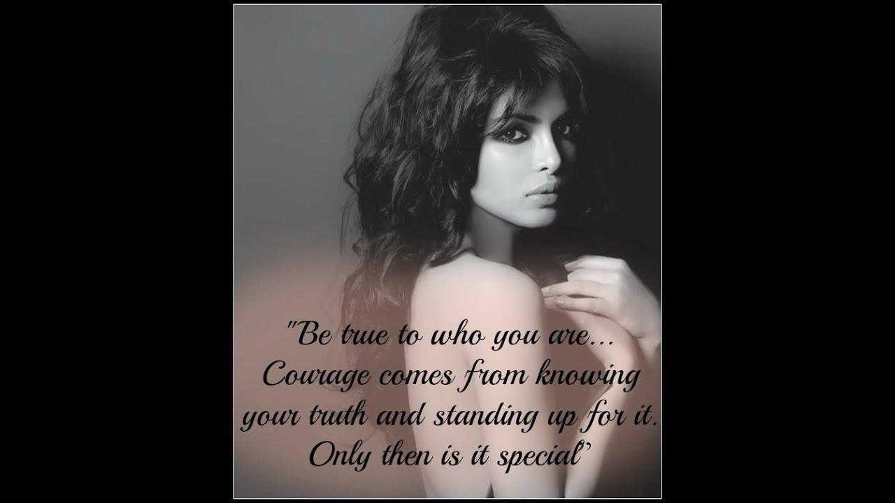 Inspirational Quotes by Priyanka Chopra - YouTube