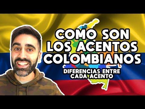 Como Son Los Acentos Colombianos Como Hablan En Colombia