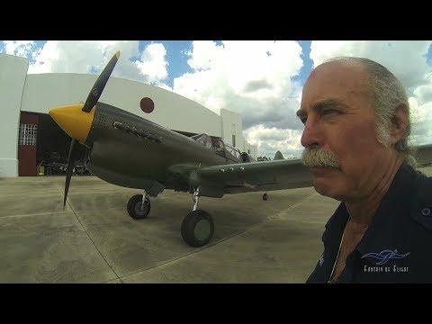 Curtiss TP-40 - Part 1 - Walkaround Tour - Kermie Cam