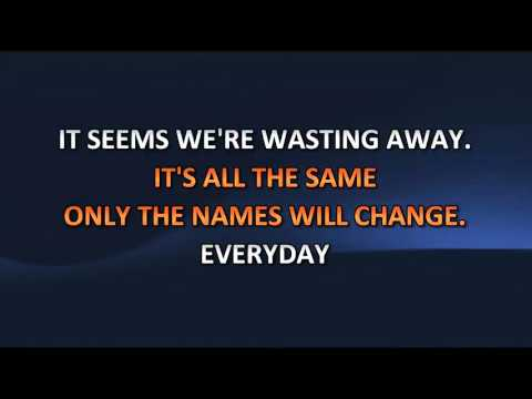 Bon Jovi - Wanted Dead Or Alive (Video karaoke)