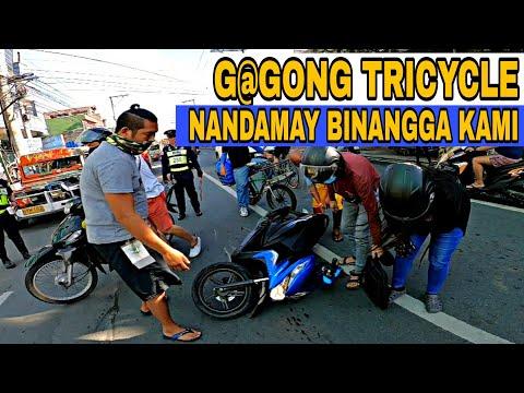 HINABOL NG PULIS!! G@GONG TRICYCLE NAKABANGGA!! MTPB OPERATION   MANILA UPDATE