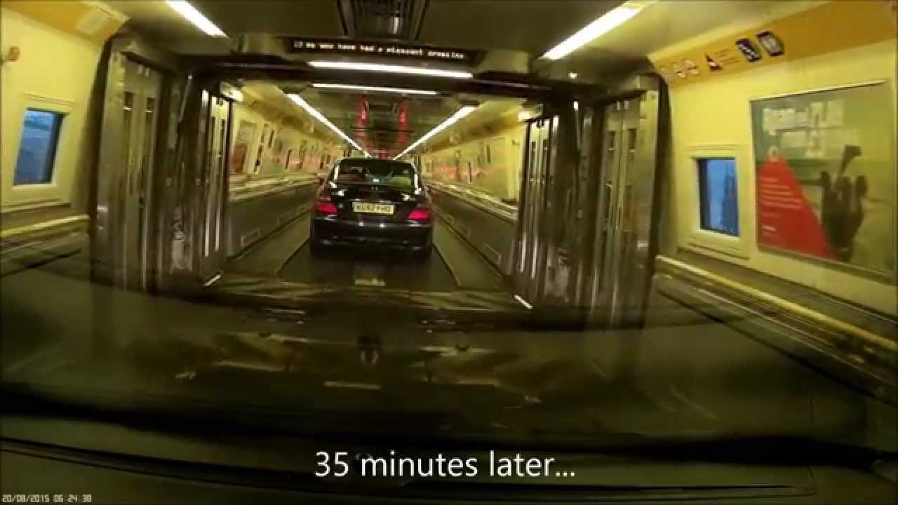 Driving the channel tunnel folkestone to calais youtube for Max garage calais
