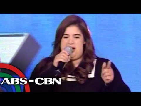 'Fat' Anne Curtis appears on 'Showtime'