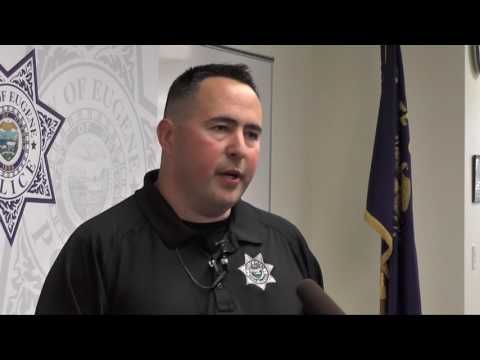 Det. Rick Lowe answers questions involving Galago primate